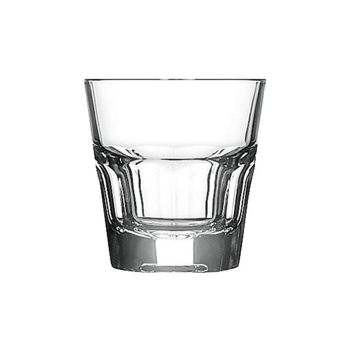 Bicchiere basso Casablanca Pasabahce in vetro cl 13.7