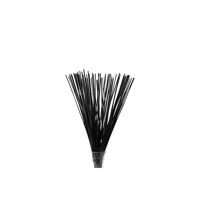 Cannucce - Drinking Straws in plastica colore nero cm 70