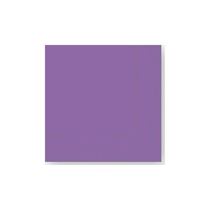 Tovagliolo 2 veli in cellulosa viola cm 25x25