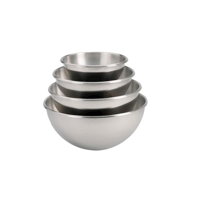 Bowl semisferica De buyer in acciaio inox cm 20 lt 2,1