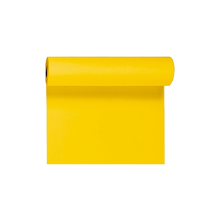 Rotolo Tête-à-Tête Duni in cellulosa Dunicel® 120×40 cm giallo