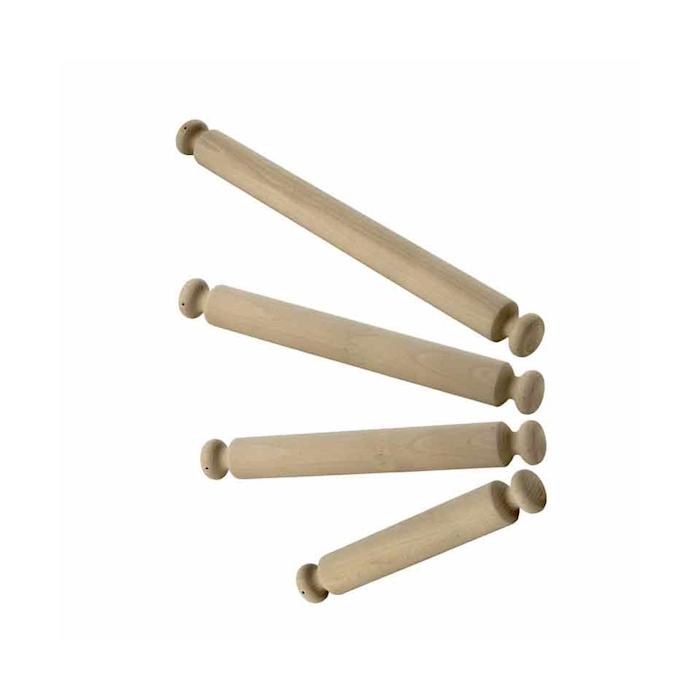 Mattarello in legno cm 60