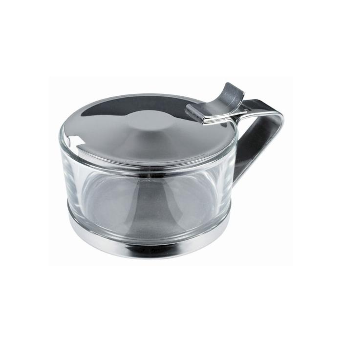 Formaggiera Ilsa acciaio vetro 9 cm