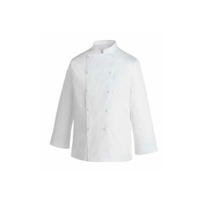 Giacca cuoco Rex Egochef cotone taglia M manica lunga bianco