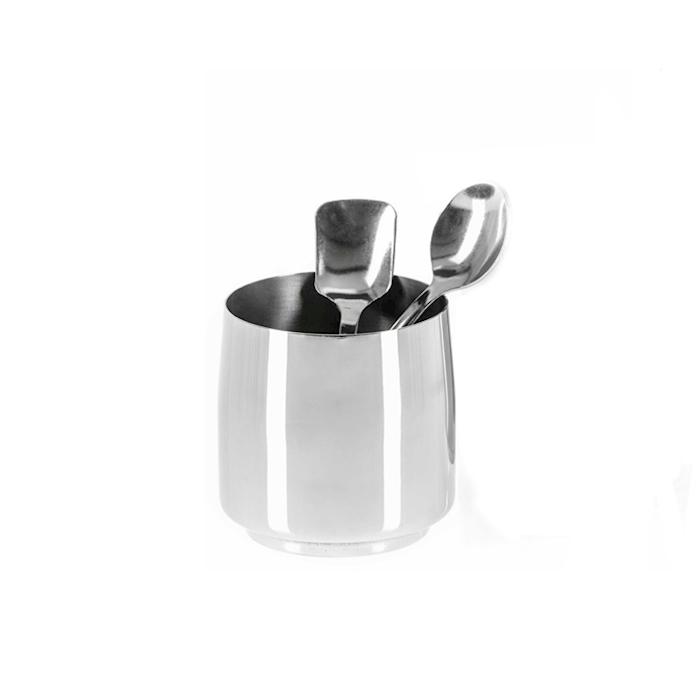 Porta cucchiaini Small in acciaio inox cm 8,6x8