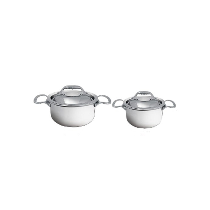 Mini cocotte Affinity De buyer con coperchio in acciaio inox cm 10