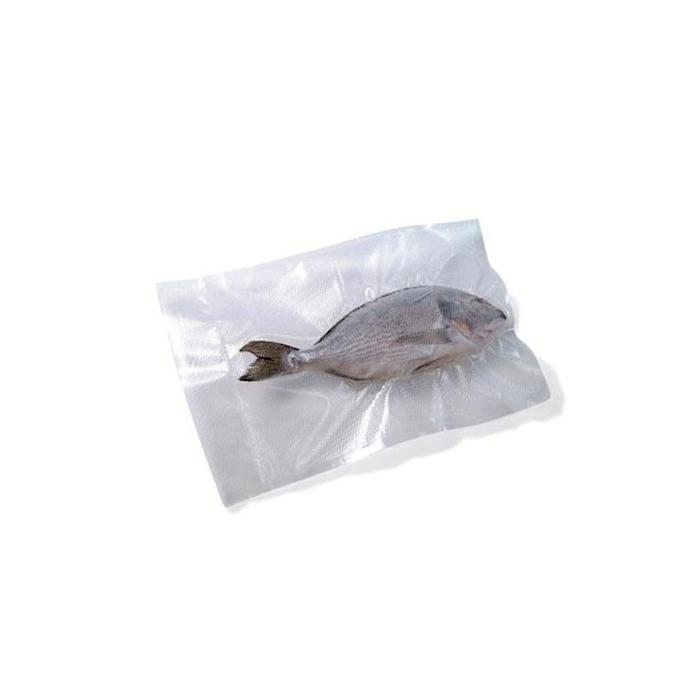 Sacchetti sottovuoto Diamond in plastica goffrata trasparente cm 35x45