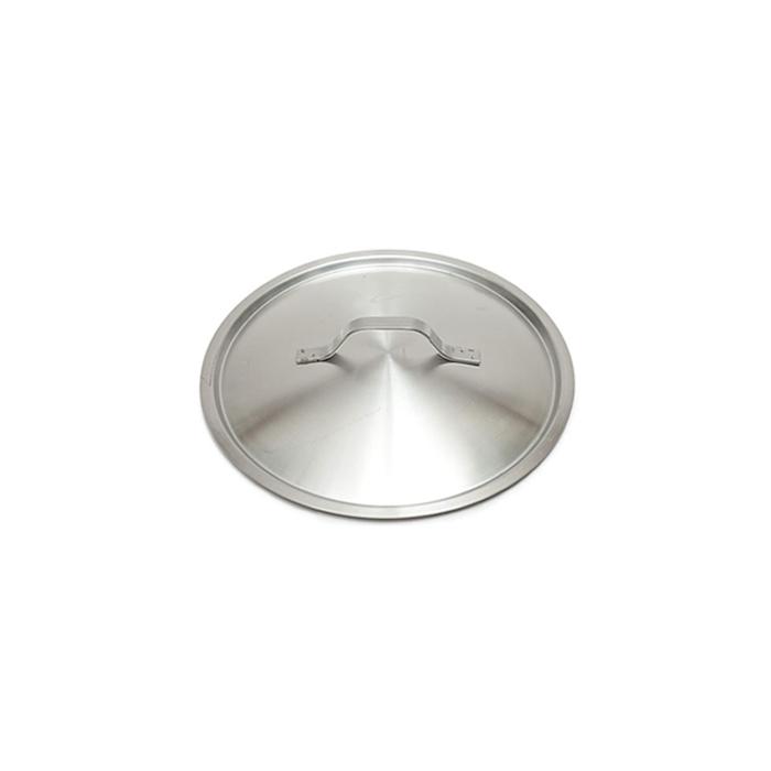 Coperchio piatto leggero in acciaio inox cm 22