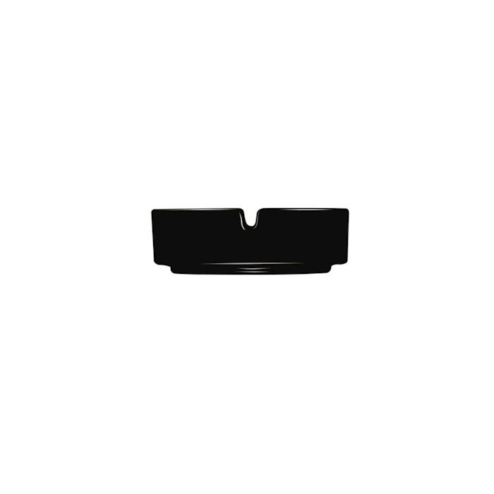 Posacenere impilabile Arcoroc in vetro nero cm 8,5