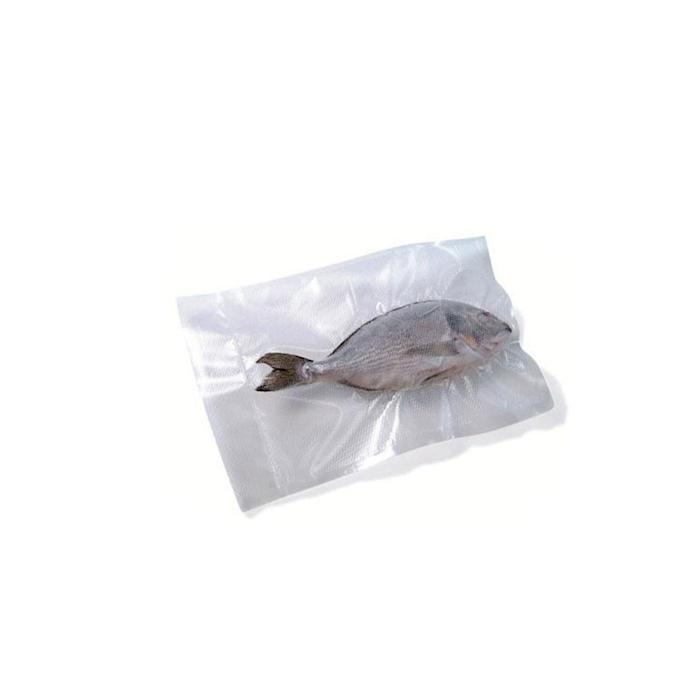 Sacchetti sottovuoto Diamond in plastica goffrata trasparente cm 20x40