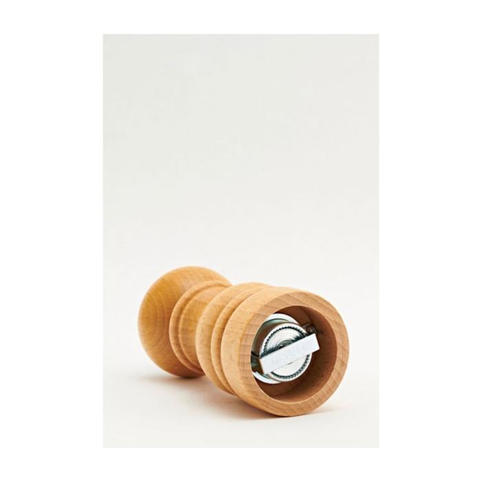 Macina pepe Bisetti in legno di faggio naturale cm 13,5