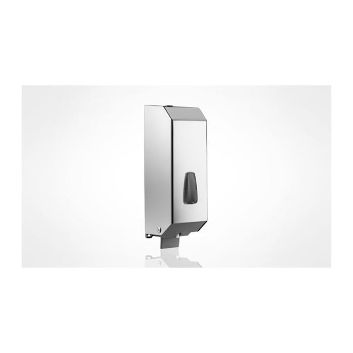 Dispenser sapone liquido acciaio inox 32x10,5x11cm