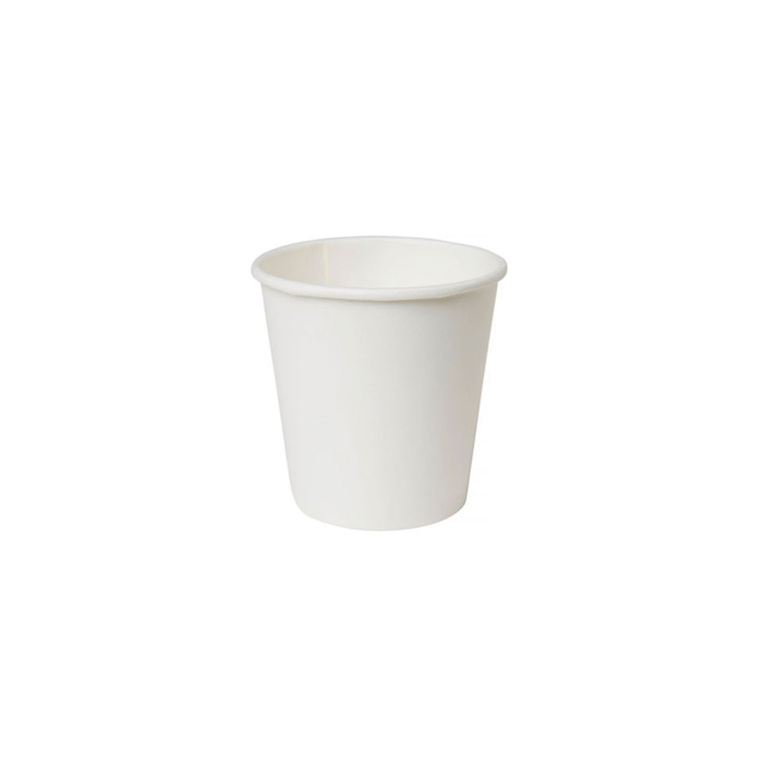 Bicchiere in carta monouso bianco cl 11,5