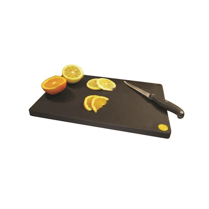 Tagliere professionale da bar MC polietilene 33x23x1,5cm nero