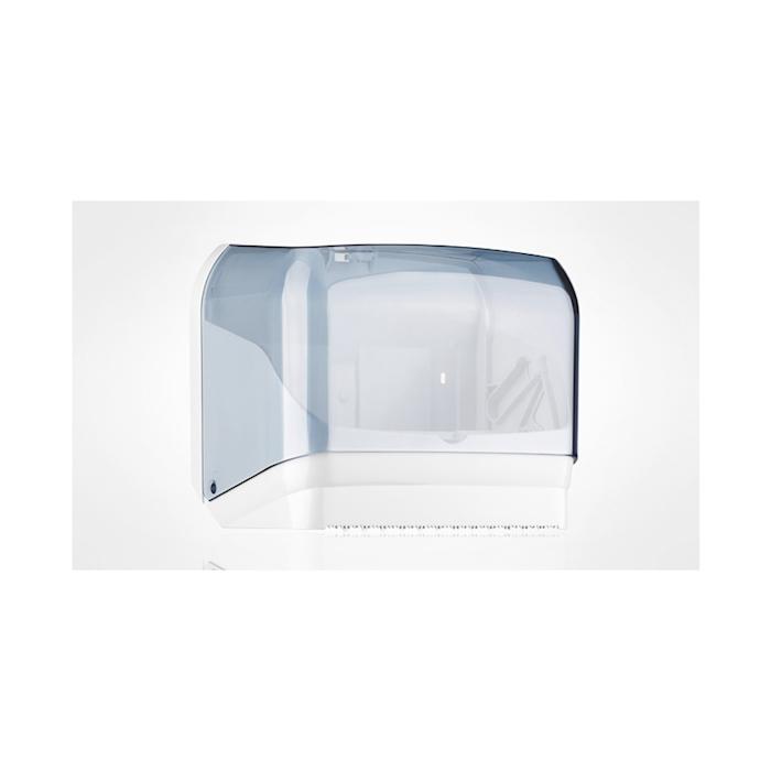 Dispenser per rotoloni di carta policarbonato 19,5x30cm -foto 2-