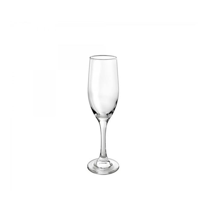 Calice flute Ducale Borgonovo in vetro cl 17 cm 22