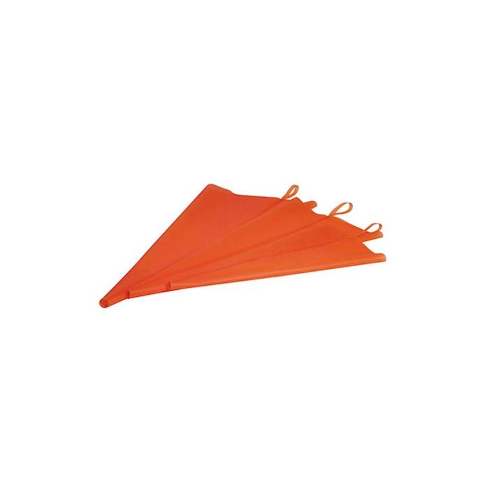 Sac a poche monouso Superflex in poliuretano arancione cm 50