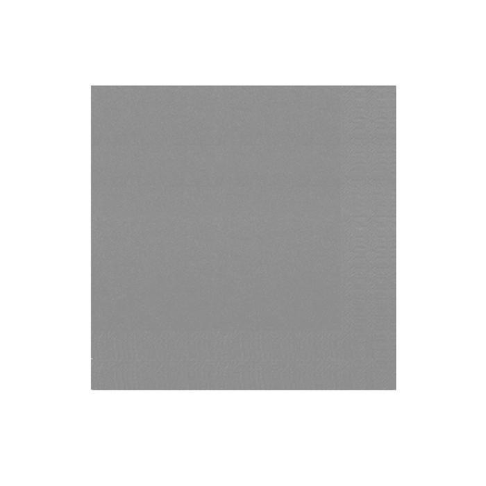 Tovagliolo Duni in cellulosa due veli cm 40 x 40 granito
