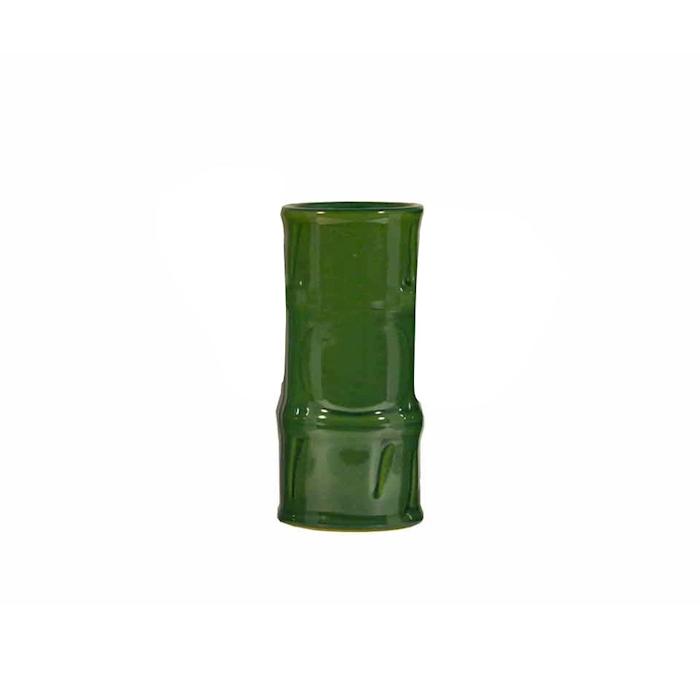 Tiki mug bamboo ceramica verde 50 cl