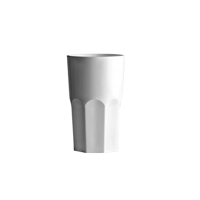 Bicchiere policarbonato Granity bianco 1,8 lt