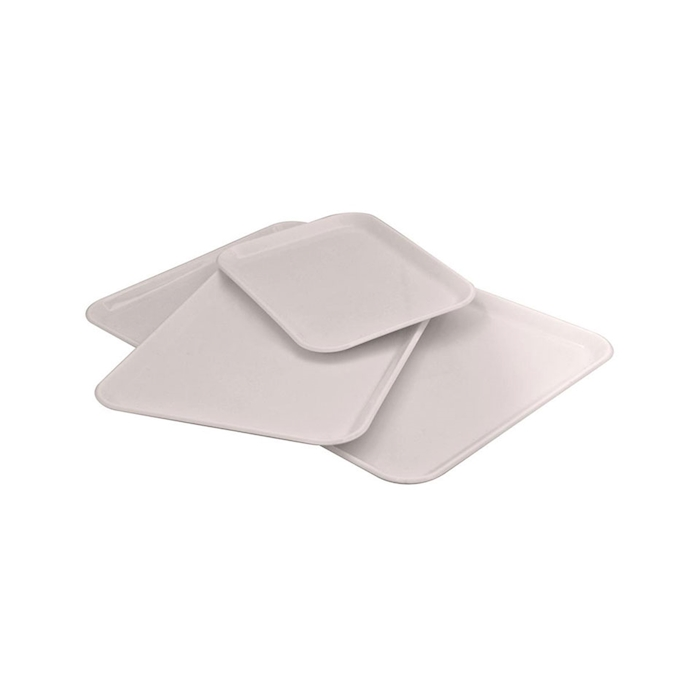 Vassoio rettangolare in san bianco cm 28x19