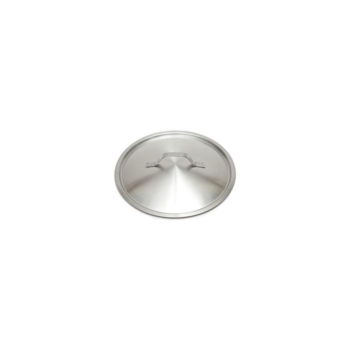 Coperchio piatto leggero in acciaio inox cm 12