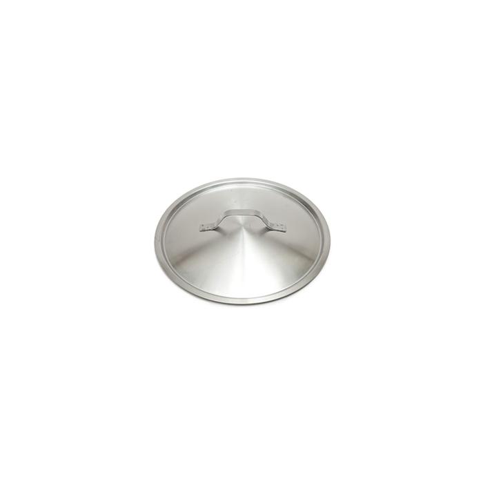 Coperchio piatto leggero in acciaio inox cm 14