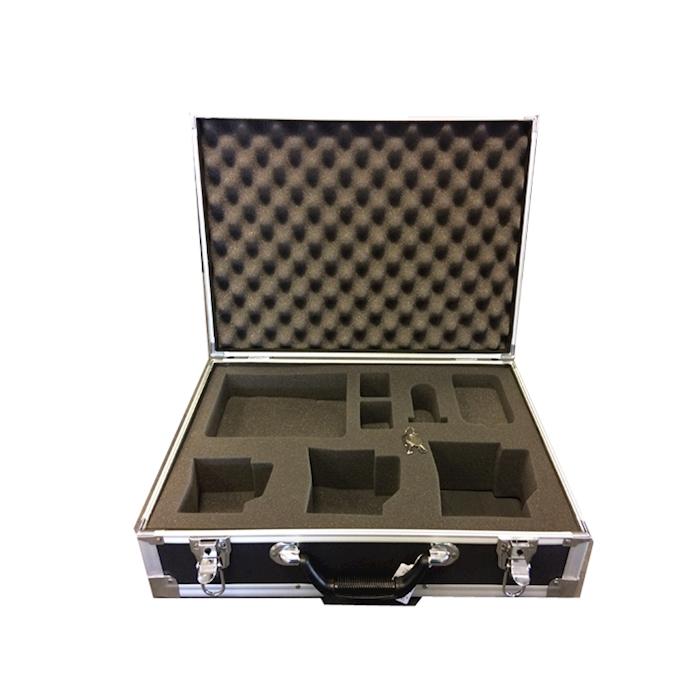 Valigetta barista vuota alluminio 46x33x18cm