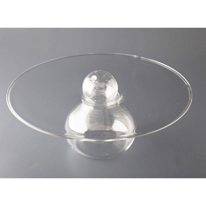 Vassoio presentazione Ovni 100% Chef in vetro cm 28