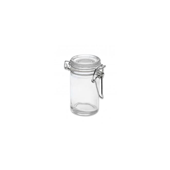 Mini barattolo ermetico 100% Chef in vetro cl 7,5
