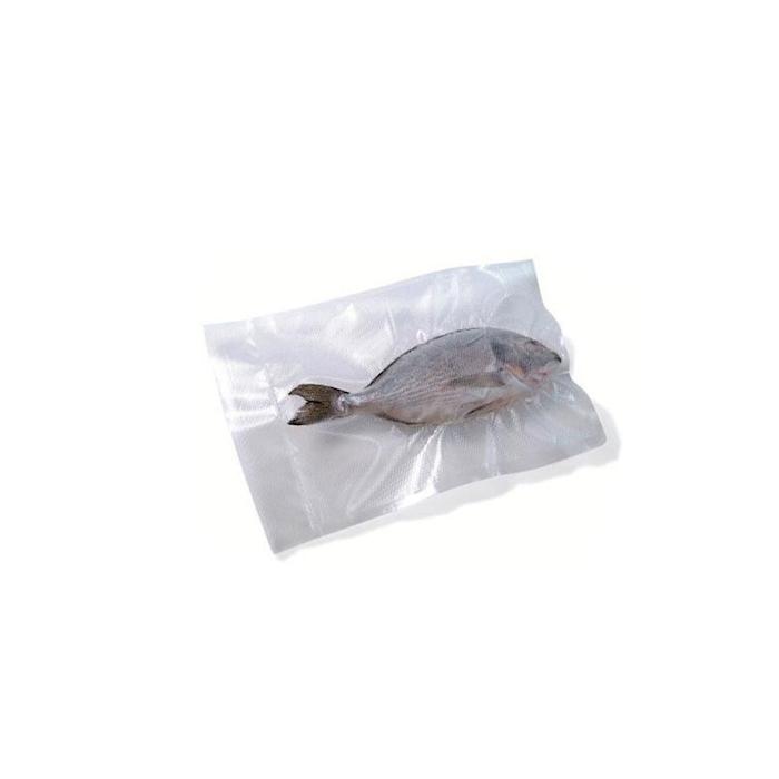 Sacchetti sottovuoto Diamond in plastica goffrata trasparente cm 15x25