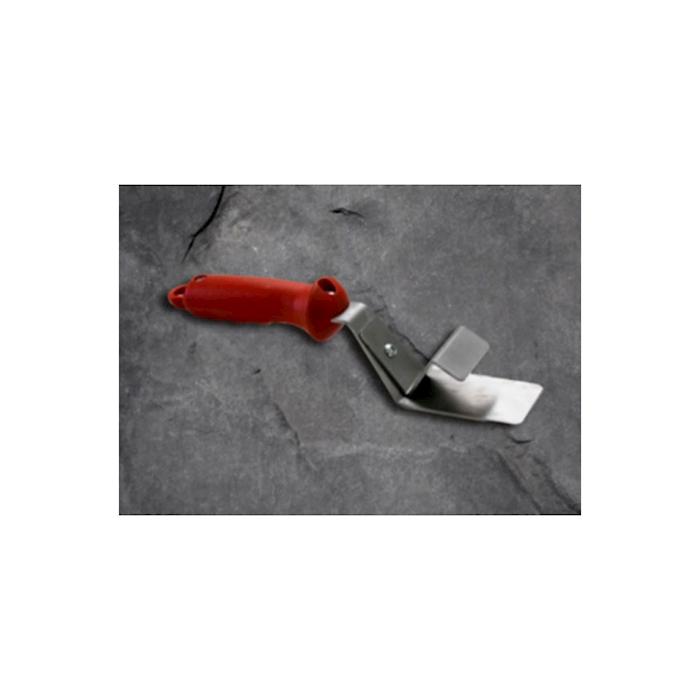 Pinza prendi teglia in acciaio inox e abs rosso cm 24