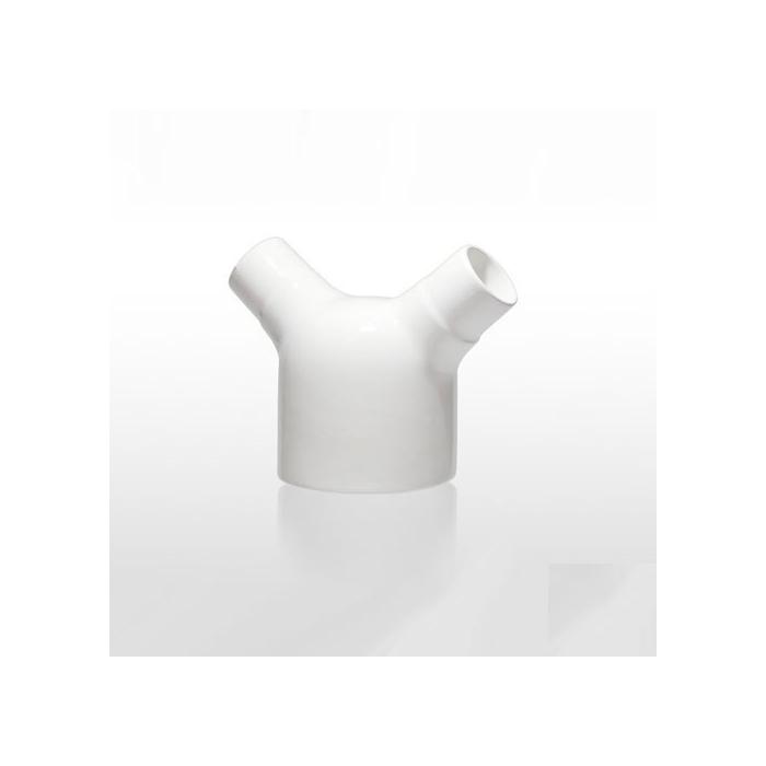 Bicchiere drink Il Coso di Dario Comini in porcellana bianca cl 35