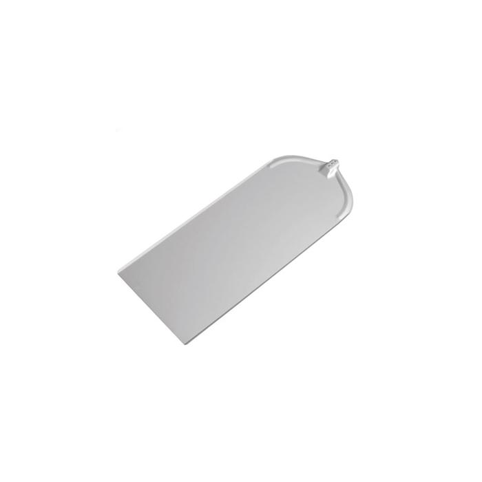 Pala per pizza rettangolare liscia in alluminio cm 32x76