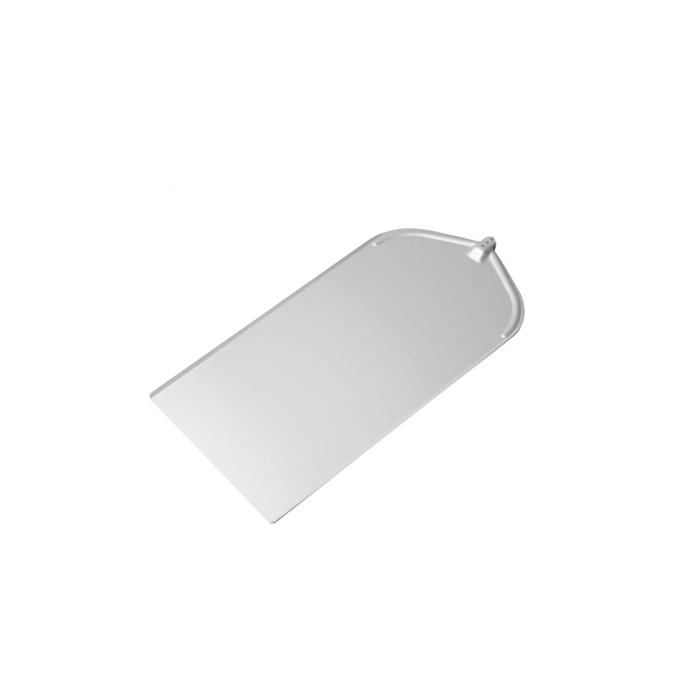Pala per pizza rettangolare liscia in alluminio cm 41x80