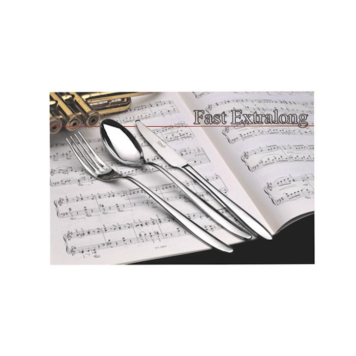 Cucchiaio tavola Fast Extralong Salvinelli in acciaio inox cm 22,5