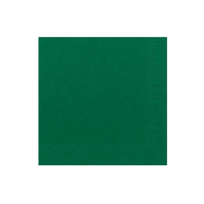 Tovagliolo Duni in cellulosa due veli cm 40 x 40 verde scuro