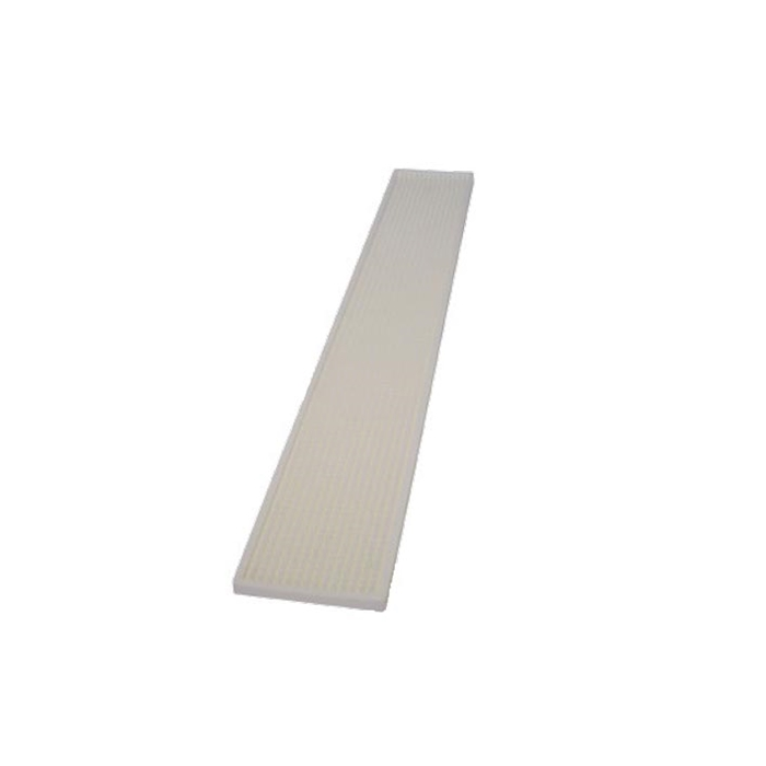 Tappetino,Bar mat gomma 70x11 cm bianco