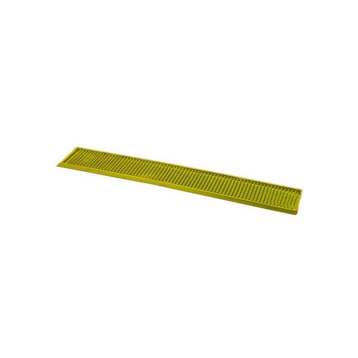 Tappetino,Bar mat gomma 70x11 cm giallo