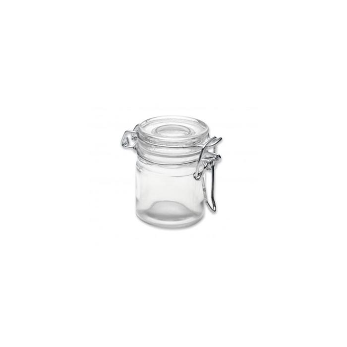 Mini barattolo ermetico 100% Chef in vetro cl 5