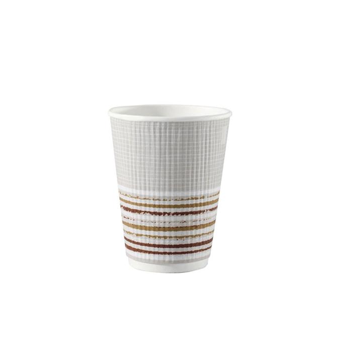 Bicchiere bibita monouso Triple wall Duni con decoro 47 cl