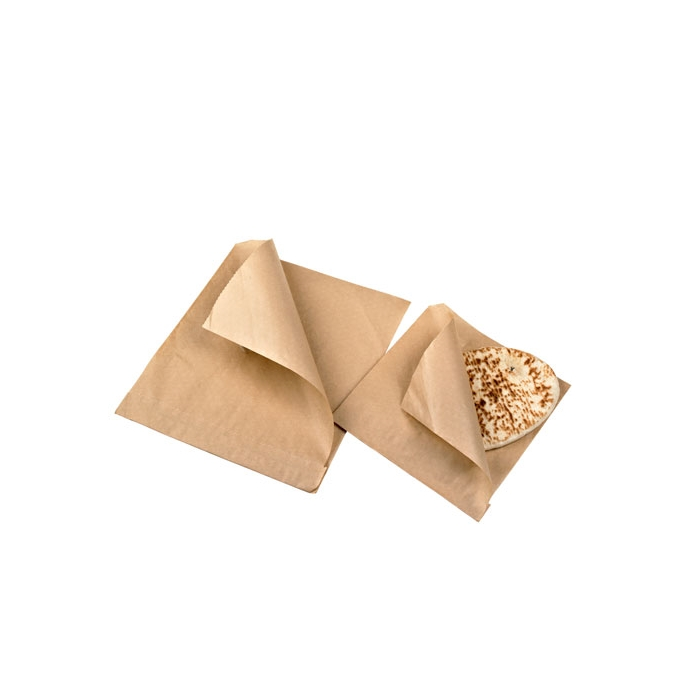 Sacchetti per panini in carta marroni cm 17x17