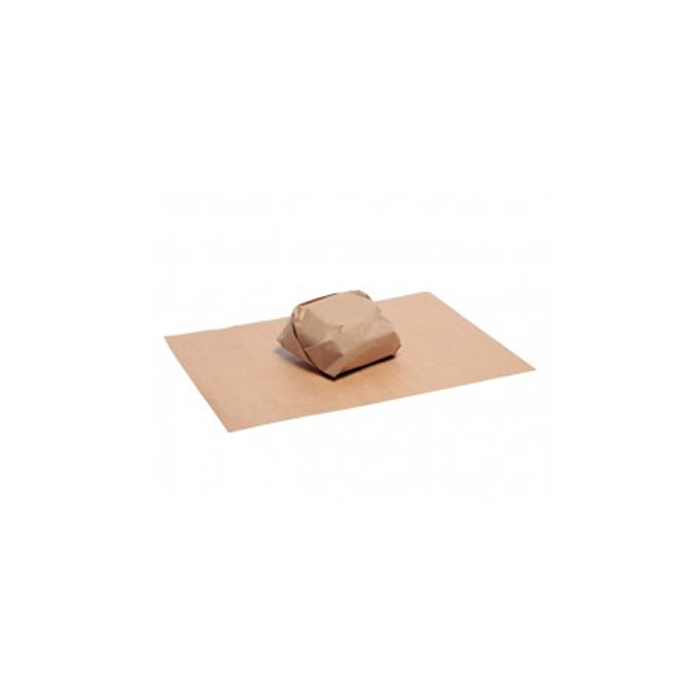 Foglio carta per asporto alimenti marrone cm 27 x 35