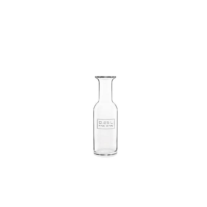 Bottiglia vino Fine Wine Optima Bormioli Luigi in vetro lt 0,25