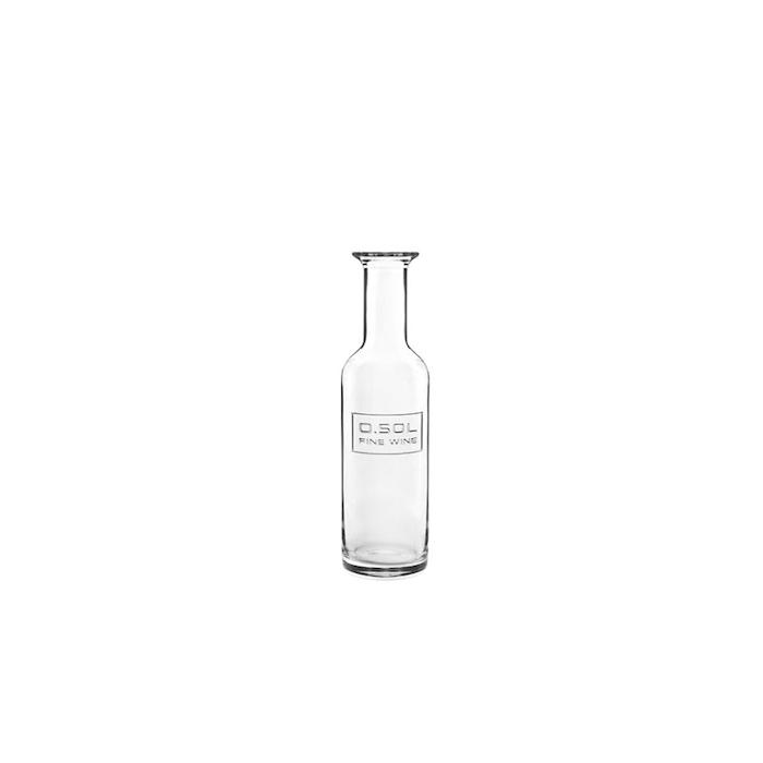 Bottiglia vino Fine Wine Optima Bormioli Luigi in vetro lt 0,5