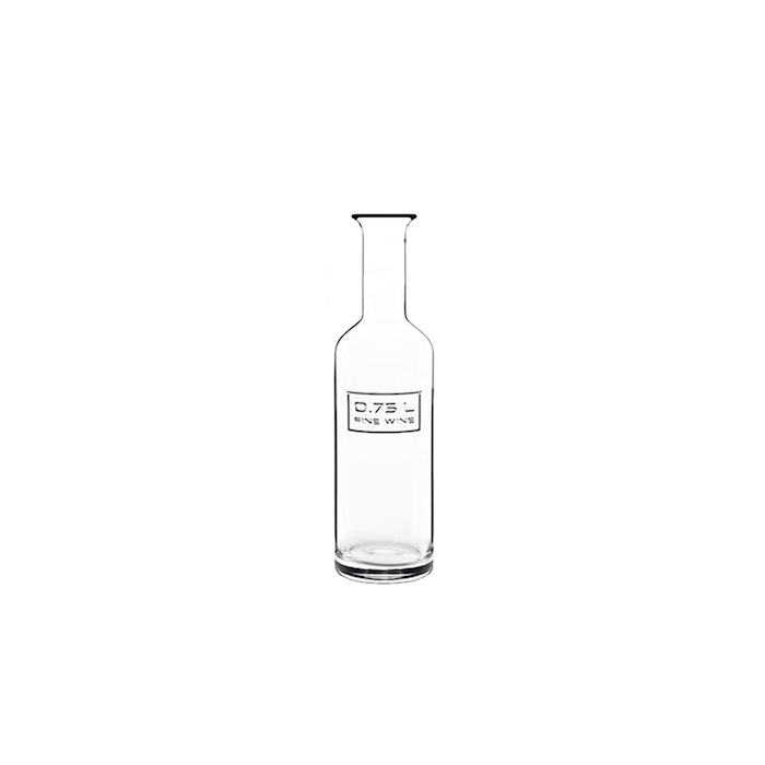 Bottiglia vino Fine Wine Optima Bormioli Luigi in vetro lt 0,75