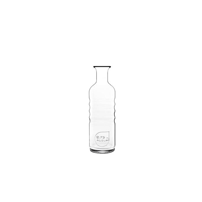 Bottiglia acqua Optima Bormioli Luigi in vetro lt 0,75