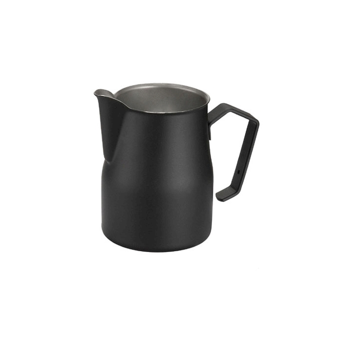 Lattiera Motta in acciaio inox nera 500 ml