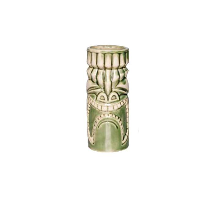 Tiki Mug Kuna Loa in ceramica verde cl 33