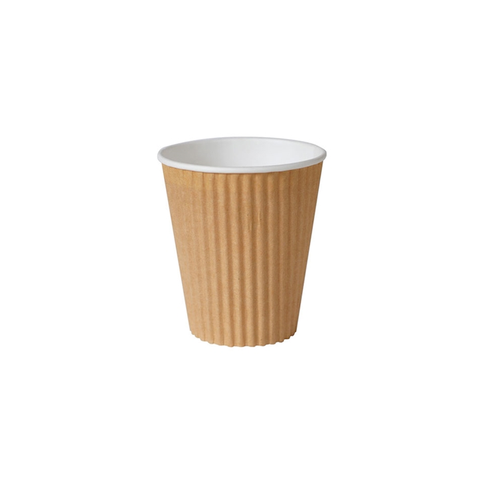 Bicchiere bibita monouso Triple wall Duni marrone chiaro 35 cl